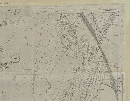Acocks Green and Olton 1916b (Birmingham Libraries)