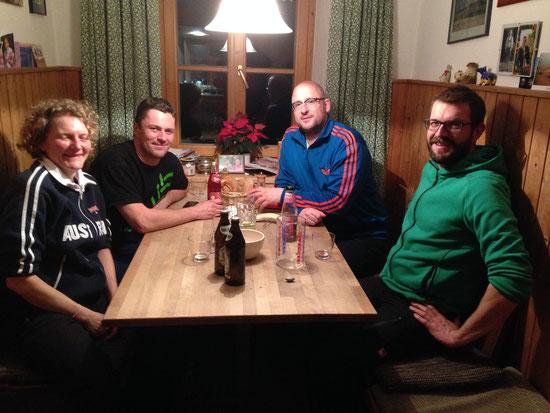 unsere Gastgeber in Peissenberg