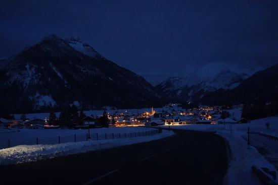 Heiterwang, in der Nähe die Zugspitze