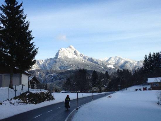 Richtung Österreich