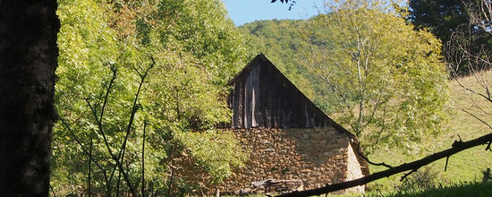 Une grange de la vallée de Rouze d'Ustou