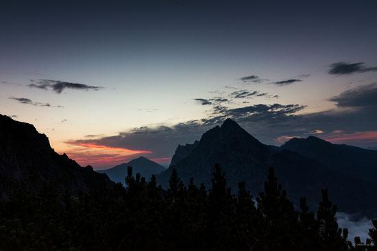 Gesäuse, Nationalpark, Alpin, Berge, Naturfotografie, Abends
