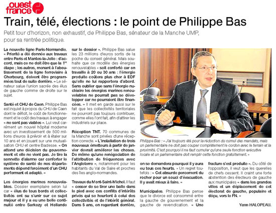 Ouest-France, 02.10.2013
