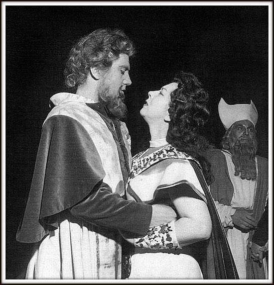 NABUCCO - ruolo del titolo - con Giulietta Simionato - Milano Teatro alla Scala 1.6.1959