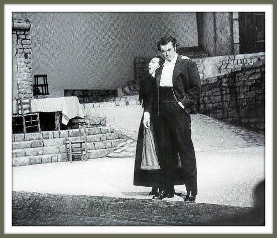 Turiddu - CAVALLERIA RUSTICANA - di P. Mascagni - con G. Simionato - (Milano 1963)