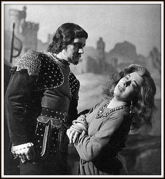 Il Conte di Luna - IL TROVATORE - con Giulietta Simionato - Milano Teatro alla Scala 11.5.1959