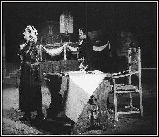 Carlo Gérard - ANDREA CHÉNIER - con Renata Tebaldi (Maddalena) - Milano Teatro alla Scala 8.1.1960