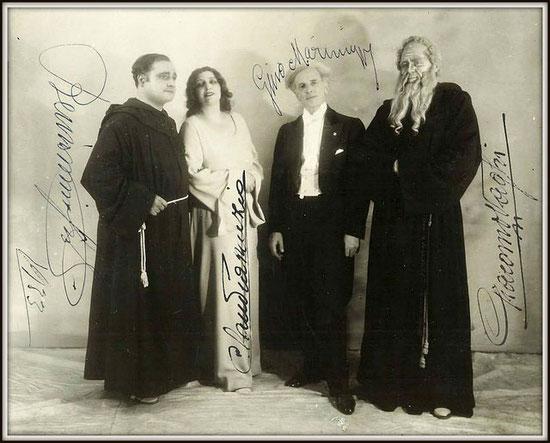 G. Verdi - LA FORZA DEL DESTINO (Leonora) - con Beniamino Gigli, Gino Marinuzzi e Giacomo Vaghi - Buenos Aires, Teatro Colón 1933