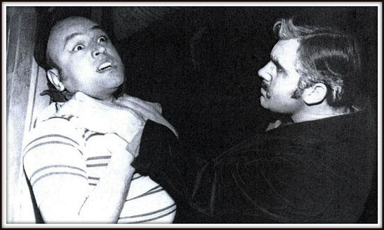 Michele - IL TABARRO . con Mirto Picchi (Luigi) - Firenze 1955