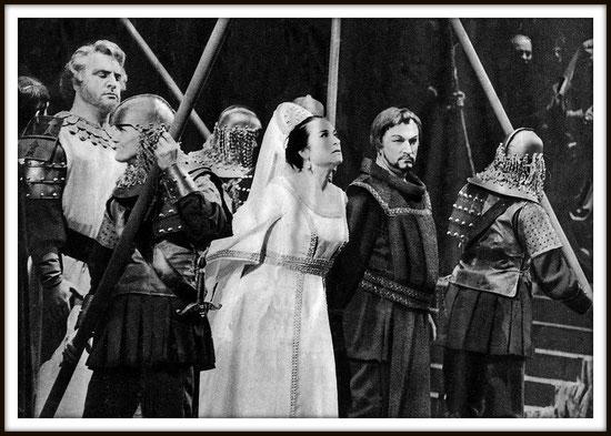 I vespri siciliani - Arrigo - con Giangiacomo Guelfi e Leyla Gencer - (Roma 1964)