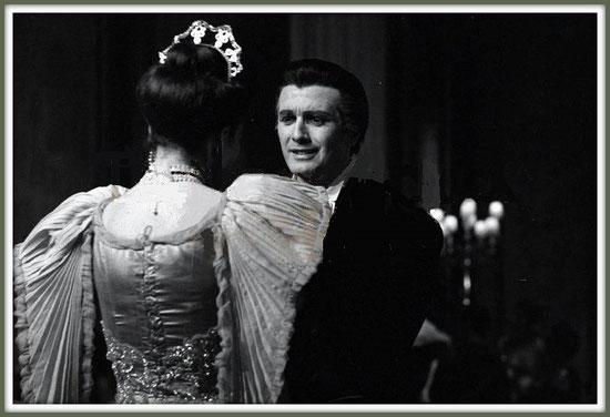 Loris Ipanoff - FEDORA -  con Maria Callas - Milano Teatro alla Scala 1956