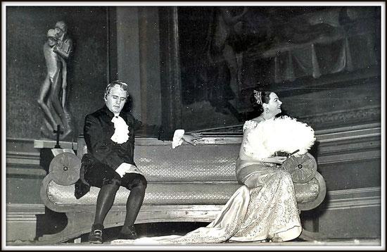 Il barone Scarpia - TOSCA - con Renata Tebaldi - Napoli Teatro di San Carlo 28.3.1958