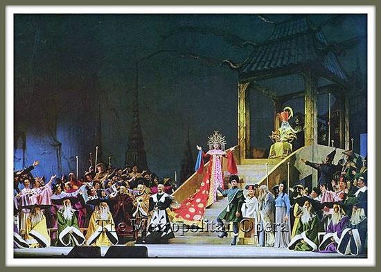Calaf - TURANDOT - di G. Puccini - con B. Nilsson, A. Moffo, B. Giaiotti - (New York 1961)