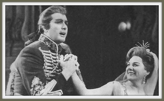 Maurizio di Sassonia - ADRIANA LECOUVREUR - di F. Cilea - con R. Teabaldi - (New York 1963)