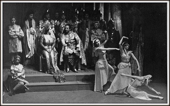 Alfonso XI - La favorita - con Bruna Castagna - Buenos Aires, Teatro Colón 1.8.1941