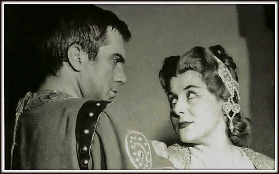 Rolando - LA BATTAGLIA DI LEGNANO - con Antonietta Stella (Lida) - Milano Teatro alla Scala 7.12.1961