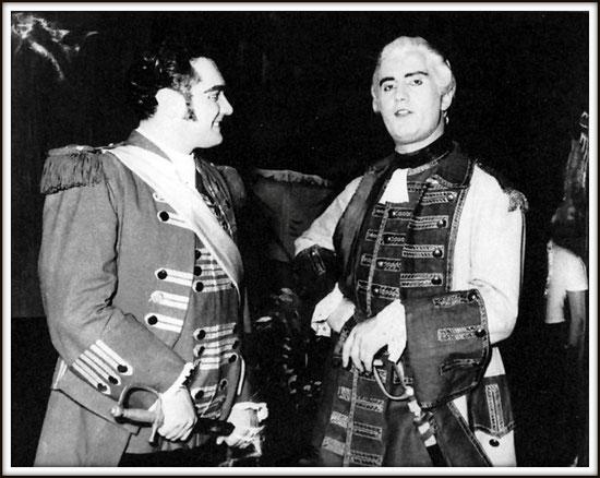 Carlo di Vargas - LA FORZA DEL DESTINO - con Mario Ortica - Monterrey (Messico) ottobre 1956