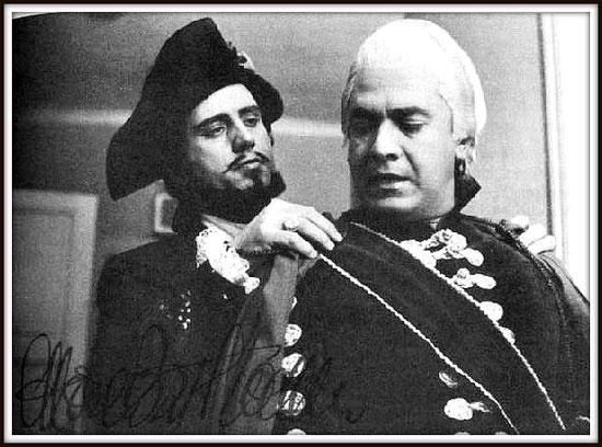 Renato - UN BALLO IN MASCHERA. con Giuseppe Di Stefano (Riccardo) - Scala 1957