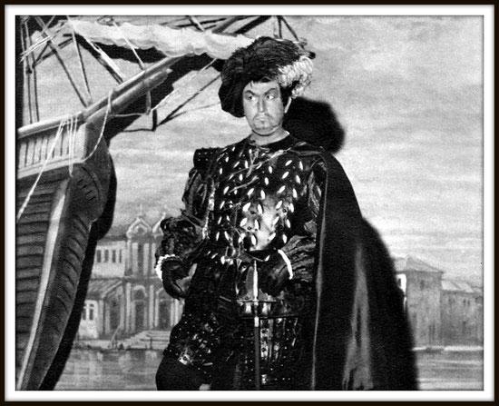 Otello (Rossini) - Jago - Roma Teatro dell'Opera  16.1.1975
