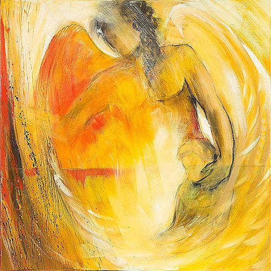 Engelbilder Leinwandbilder, Engel der Führung, Geburt, Taufe, Kunstdrucke, spirituelle Poster