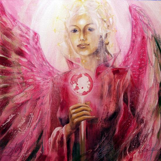 Erzengel Metatron, Engelbilder, spirituelle Malerei, Leinwandbilder, Poster, Wandbilder, Wahrheit