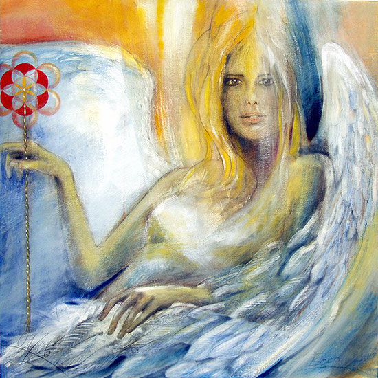 Engelbilder, Engel der Freude / Heimkehr, spirituelle Wandbilder, Poster, Kunstdrucke