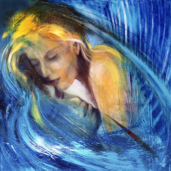 Engelbilder Liebe, Engel der Liebenden, Leinwandbilder, Poster, spirituelle Kunstdrucke