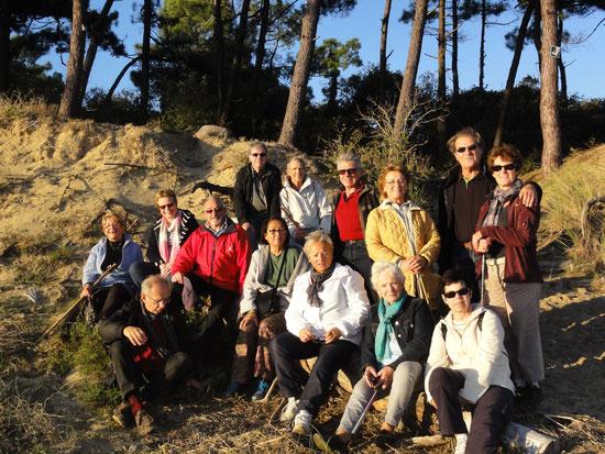 Le groupe marche découverte