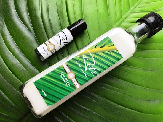 Rito Cook Islands, Rito, Tamanu oil, Coconut oil, Rarotonga oils, Made in Rarotonga, Cook Islands souvenir,