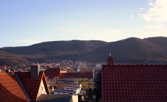 Fernsicht von FeWo Bergblick