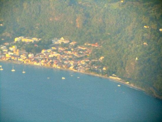 Jolie baie des Antilles...