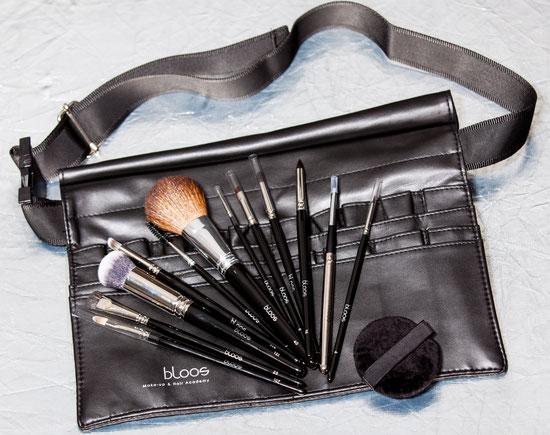 bloos Make-up & Hair Academy Pinseltasche Weist Bag Gürteltasche