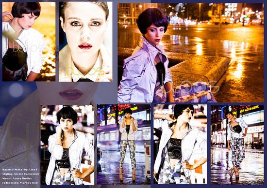 Haare & Make-up: Lina F. Styling: Nicole Dannecker Model: Laura Theiler  Foto: Markus Thiel