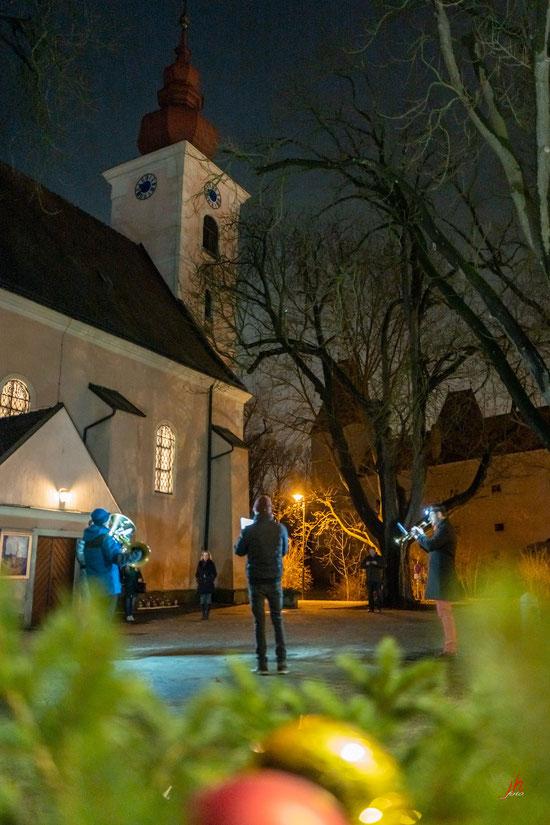 Weihnachtliches Trompetenkonzert in Orth/Donau
