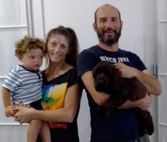 Zaffiro Dellyllè e la sua famiglia