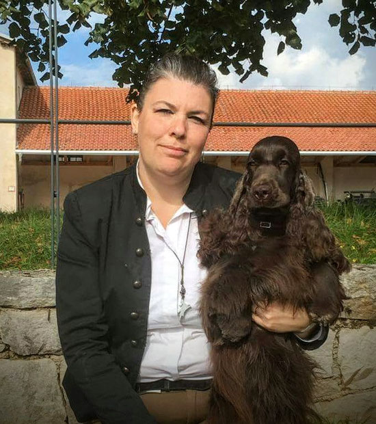 Shanti Dellylle' 2 cac in Slovenia ottobre 2017
