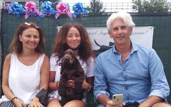 Rubino Dellyllè e la sua nuova famiglia