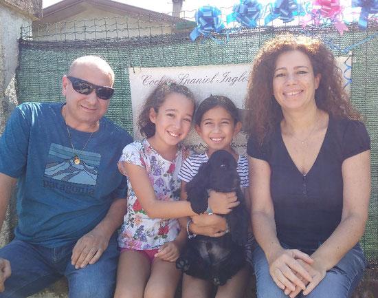 Buondì Dellyllè e la sua famiglia