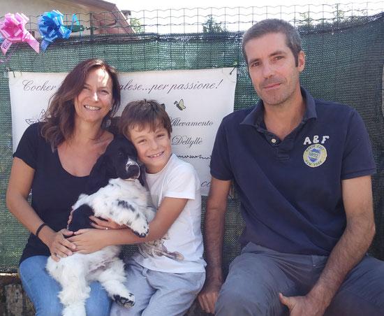 Kinder Delice Dellyllè e la sua nuova famiglia