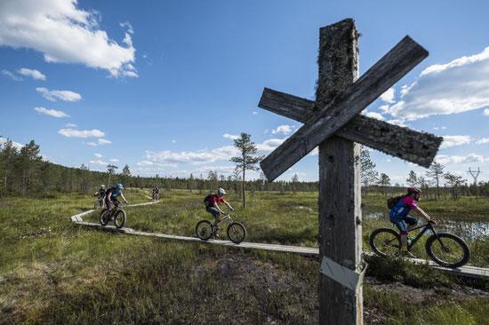 Naturtourismus, Aktivtourismus, Mountainbike-Tourismus destination to market