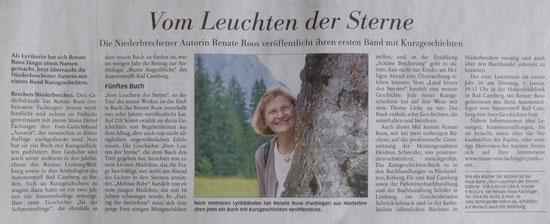 Zeitungsbericht Nassauische Neue Presse vom 23.11.2015