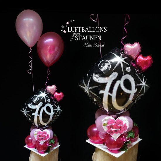 Geburtstag 50 frau deko