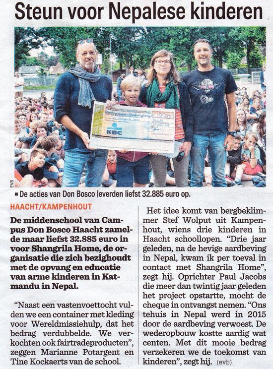 Het Nieuwsblad 24 juni 2018
