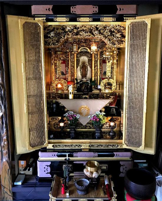 Hiroshima Buddhist alter