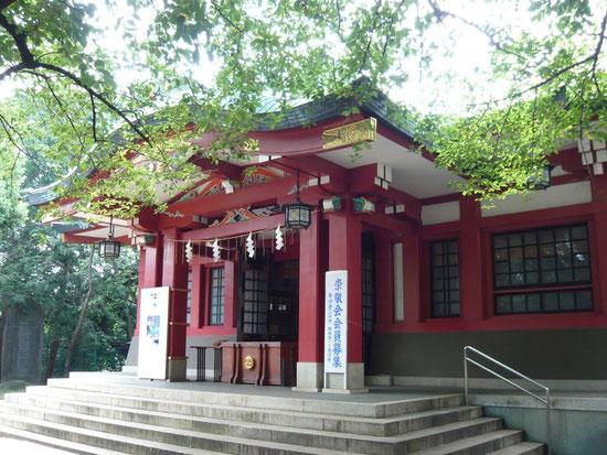 品川区中延/旗岡八幡神社