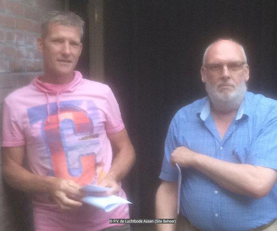 De waardebon voor 1e prijs Limoges NIC 0303 Assen gaat naar Henri Hoeks