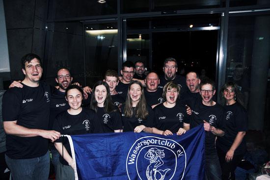 2. Mannschaft nach dem Aufstieg in die Landesliga