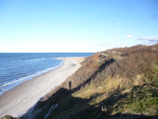Küstenwanderung am Hohen Ufer