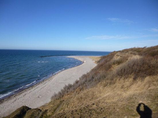 Strand + Hohes Ufer im November