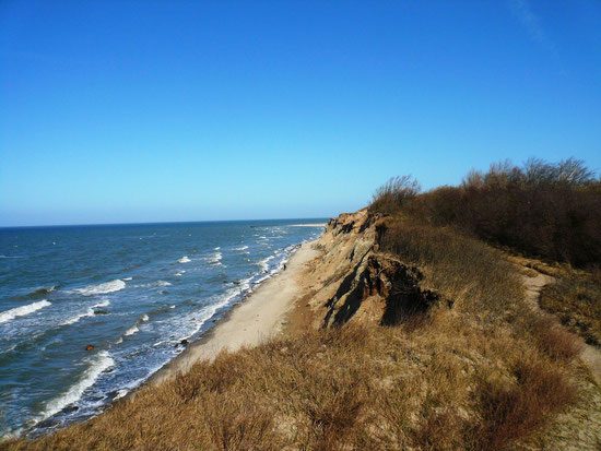 Wanderwege von Ahrenshoop nach Wustrow